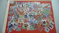 1964  - lot 100 timbres seconds USA