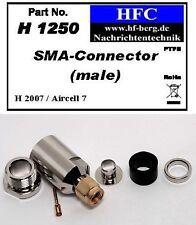 1 Pieza Conector SMA para H 2007/Aircell 7/Alta flex 7 Cable coaxial 50 Ω H1250