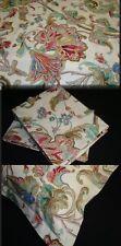 2 Two King Sham Pillow Cover New Ralph Lauren ANTIGUA PAISLEY PINK Fabric