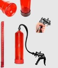 Vakuum Pumpe Penispumpe Potenzpumpe 14te FirePump RED SCALA mit Scherengriff