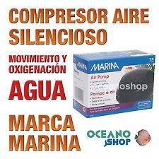 Compresor de Aire MARINA 75 para el movimiento y oxigenación del agua acuarios