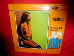 Sanremo 68 Visto Da John & Jerry Volume 3 LP ITALY 1968 M- Battisti Sexy Cover