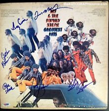 """Sly and The Family Stone Autographed """"Greatest Hits"""" Album Signed PSA DNA COA"""