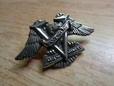 Harley Davidson V-Twin Motorcycle Eagle Pin Classic HD Vest Jacket Badge Patch