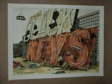 The Black Keys Winnipeg concert poster gig art print signed 2012 Landland