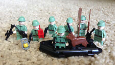 7 Lego Russian Custom Guns Army Soldiers Minifigs WW2 Boat Dog HTF Jones Lot 1