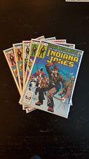 FURTHER ADVENTURES OF INDIANA JONES #1-5 (1983 MARVEL) *JOHN BYRNE* NM/NM+