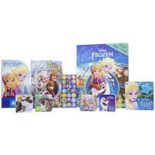 Disney Frozen Deluxe Read and Play Gift Set, 2 Sound & 4 Chunky Books & Stickers