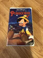 Sealed Pinocchio Vhs 1994 Walt Disney Masterpiece Collection
