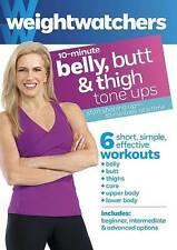 Weight Watchers: 10-Minute Belly, Butt  Thigh Tone Ups (DVD, 2014)