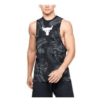 Under Armour Men's Project Rock Aloha Camo Tank Training T-shirt 1351590-001
