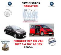 Per Peugeot 207 Sw Furgone 1007 1.4 16V 1.6 16V 2005> Radiatore Nuovo OE Quality