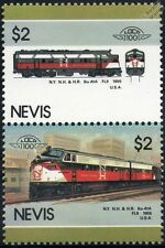 1955 New Haven EMD Class FL9 (EDER-5A) NYNH&H #2039 Train Stamps / LOCO 100