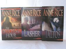 Lives of Mayfair Witches by Anne Rice (3-Book Series Set Mass Market Paperback)