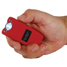 12 MILLION VOLTS RED STUN GUN LIL GUY STUN MASTER® - FLASHLIGHT - RECHARGEABLE