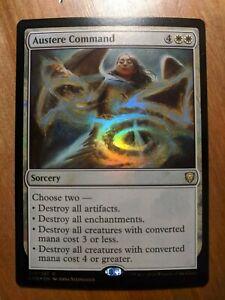 MTG Card: Austere Command FOIL