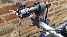 Ultrafire 501 CREE XML-T6 torch bike light quick detachable mount