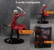 "Anime Fate stay night Emiya Shirou Archer 10"" PVC statue Action Figure Toy NIB"