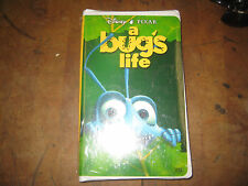 A Bug's Life VHS Movie Video Disney Pixar 1999 CLAMSHELL Flik Worker Ant NEW