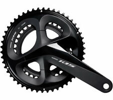 Shimano crankset 105 FC-R7000 2x11 172.5mm 53-39 teeth black