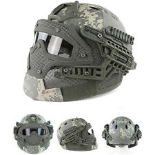 New ACP Protective Goggles G4 System Full Face Mask Helmet Airsoft Paintball