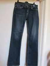 Guess Dark Blue Indigo Faded Nicole Boot Bootcut Jeans in Size W29 L34