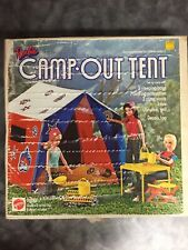 Vintage 1972 Barbie Camp•Out Tent Complete w/ Box, Accessories