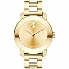 Movado Bold Watch Women's Gold-Tone Stainless Steel 3600085
