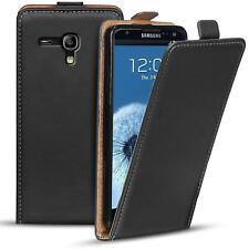 Schutz Hülle Für Samsung Galaxy S3 Mini Etui Klapp Tasche Flip Cover Handy Case