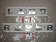 2005-2016 LAND ROVER LR3 LR4  SILVER TITAN HOOD DECAL LR038657 LR038658 OEM NEW