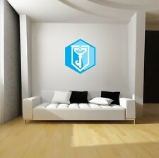 Ingress Resistance Faction Role-Play Repositionable Decal Sticker Gift Game