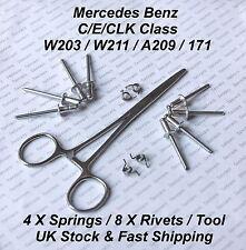 Mercedes C/E/CLK Class W203 / W211 / A209 DOOR LOCK REPAIR KIT - POP RIVETS&TOOL