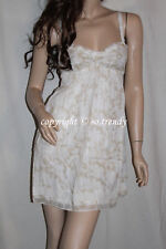 NWT! ABERCROMBIE by Hollister Womens Spring Sun Dress White M $80