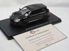 ESVAL MODELS 2010 Porsche Cayenne 2-Door Merdad Coupe black Limited Edition 1/43