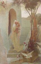 Guillaume DUBUFE (1853-1909) L'enfant L'estampe Moderne art nouveau XIXe