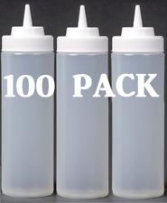3 Hole Squeeze Bottle Condiment Dispenser Sauce Vinegar Oil Ketchup Usable