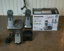 Panasonic Kx-Tg7733 Dect 6.0 Link-to-Cell via Bluetooth Cordless Phone