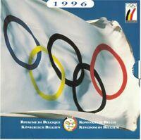 Belgien KMS Kursmünzensatz 1996 100 Jahre Olympia