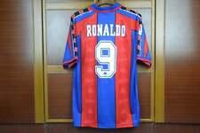 ronaldo 1997 barcelona Retro Soccer Jersey Vintage Soccer Jersey classic