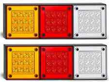 2x LED Autolamps 280ARWM Mini Jumbo Tail Lights w/Stop, Tail, Ind. & Reverse