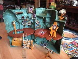 He Man Castle Grayskull with box and working microphone