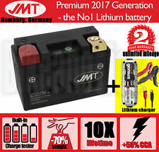 Powersports JMT lithium battery+Noco G3500 charger- Yamaha XJR 1300 - 2002