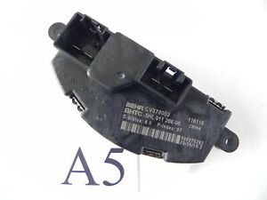 2015 DODGE CHALLENGER A/C AC BLOWER MOTOR FAN RESISTOR CV378002 OEM 879 #5 A
