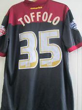 Norwich City Harry Toffolo Match Issue 2014-2015 Away Football Shirt /40425