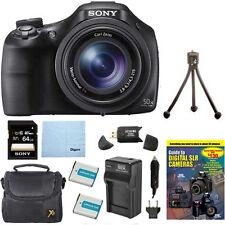 Sony DSC-HX400V/B 50x Optical Zoom 4K Stills Digital Camera Kit