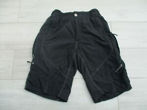 Endura Mens Hummvee Baggy Cycling Bike Shorts L with Pockets Black