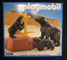 VINTAGE PLAYMOBIL - BEARS 3239, SPAIN, 1984, MISB.