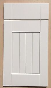 Ivory shaker T&G Panel kitchen cupboard doors/drawers to fit Wickes & B&Q units