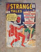 Strange Tales #115 First Doctor Strange Origin Story!! Spider-Man crossover