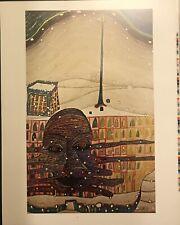 """FRIEDENSREICH HUNDERTWASSER, 1966  - 22 1/2""""x 28 1/2"""""""